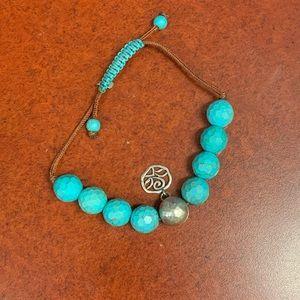 Silpada Turquoise Howlite Bracelet